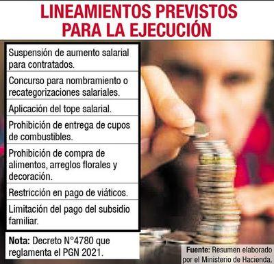 Hacienda pide a los entes austeridad y mejor calidad del gasto público
