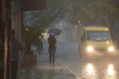 Jornada estará marcada por lluvias y tormentas eléctricas