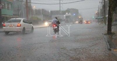 La Nación / Siguen las lluvias dispersas y ocasionales tormentas