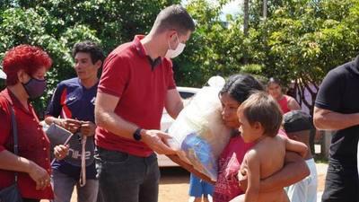Esteban Wiens hace CAMPAÑA con recursos de la GOBERNACION