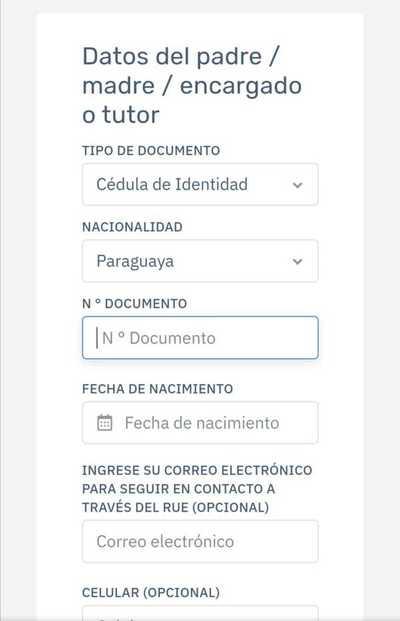 MEC ya habilita inscripción para optar por la modalidad de clases