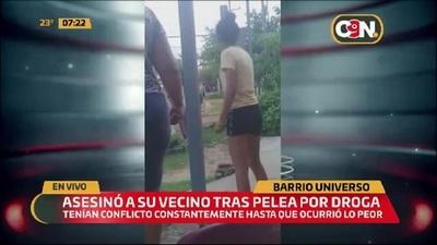 MRA: Asesinó a su vecino tras presunta pelea por droga