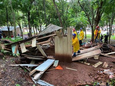 Ocupantes ilegales deforestaron reserva natural ubicada al costado del Lago de la República