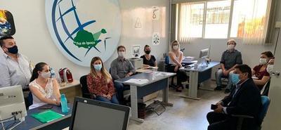 Analizan acciones en Foz y CDE en el marco de la pandemia