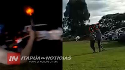 SAN PEDRO DEL PNA.: CENTENARES DE DISPAROS EN CARRERA CLANDESTINA DE CABALLOS