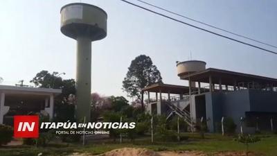 JUNTAS DE SANEAMIENTO DE ENCARNACIÓN CON PROBLEMAS DE AGUA