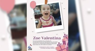 ZOE VALENTINA: OTRA NIÑA PARAGUAYA QUE RECIBIRÁ EL ZOLGENSMA COMO TRATAMIENTO DEL AME