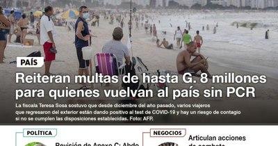 La Nación / LN PM: Las noticias más relevantes de la siesta del 28 de enero