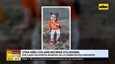 Zoe, otra niña con AME que recibirá el Zolgensma