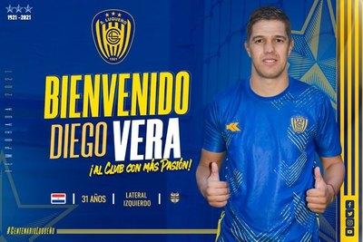 Diego Vera es el noveno refuerzo oficial del Sportivo Luqueño