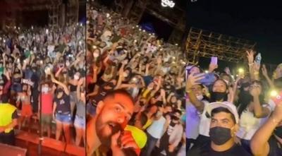 HOY / Continúan las investigaciones sobre el concierto realizado en Sanber el fin de semana pasado