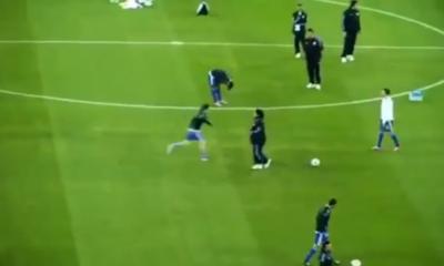 El inédito video en el que se ve a Messi y Maradona jugar juntos