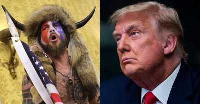 """El """"hombre con cuernos"""" está dispuesto a testificar en contra de Donald Trump"""