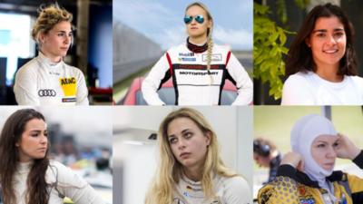 12 mujeres del automovilismo que debes de conocer