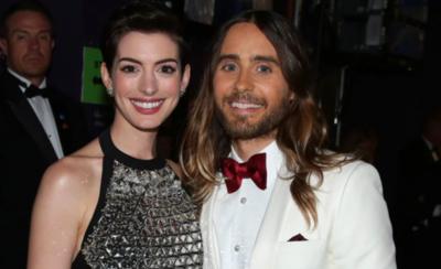 HOY / Anne Hathaway y Jared Leto fichan por Apple con una serie sobre WeWork