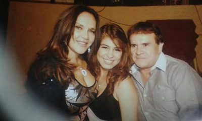 """El jefe narco """"Gringo"""" González  y la """"explosiva"""" foto de su fiesta con Zuni Castiñeira y Nadia Portillo"""