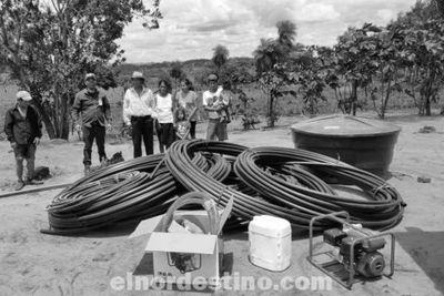 El acceso al agua en zonas rurales constituye una de las prioridades del gobernador de Amambay Ronald Acevedo