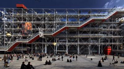 Centro Georges Pompidou, cerrado