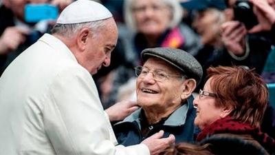 """HOY / El papa instaura día mundial de los abuelos """"olvidados"""""""