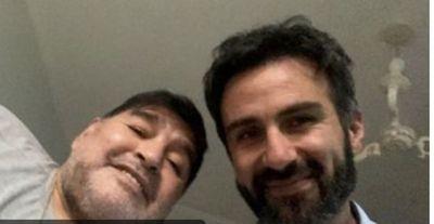 """Exclusivo: """"El gordo se va a cagar muriendo"""", el insólito audio de Luque minutos antes del final de Maradona"""