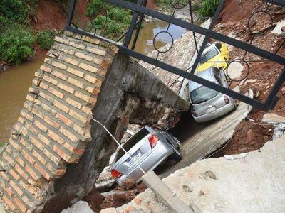Fatídico temporal expone una vez más la infraestructura precaria del país