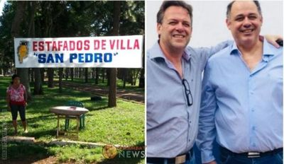 Estafados a más de 10 años decidieron ocupar sus lotes en Villa San Pedro de Pedro Juan Caballero