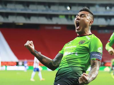 Gol y asistencia de Darío Lezcano para triunfo de Juárez