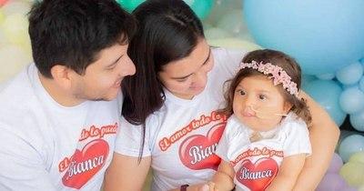 La Nación / Bianca, ya medicada, cumplirá dos años en febrero