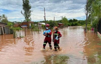 Capiatá: temporal causó inundaciones, choques y dejó una víctima fatal