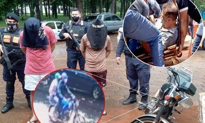 Capturan a dos marginales que asaltaron e hirieron a un comerciante en Minga Guazú – Diario TNPRESS