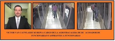 GERENTE ACOSADOR, PIDE COLABORACIONSEX A CAMBIO DE TRABAJO