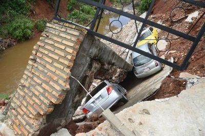 Fatídico temporal expone una vez más la precaria infraestructura del país