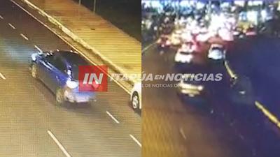 CÁMARAS DEL 911 CAPTARON EL MOMENTO DEL FATAL ACCIDENTE EN LA COSTANERA