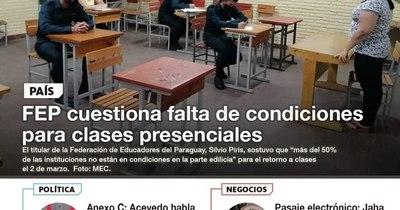 La Nación / LN PM: Las noticias más relevantes de la siesta del 1 de febrero