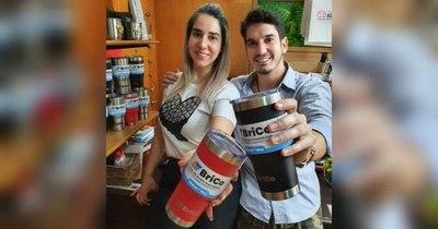 La Nación / Emprendedores paraguayos lanzaron vaso térmico a precio módico