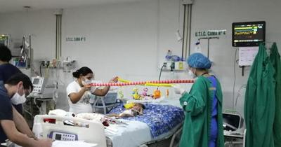 Bebé con AME fue sometido a asistencia respiratoria no invasiva