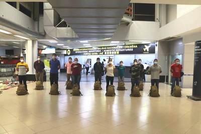 Despiden a contingente militar paraguayo destinado a Misión de Paz en Chipre