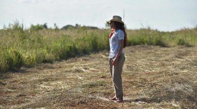 Es la única mujer entre cuatro hermanos y con 25 años lidera el campo de su familia