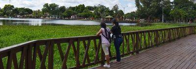 Laguna con yacarés,  un atractivo