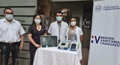 V Región Sanitaria distribuyó equipos biomédicos a hospitales
