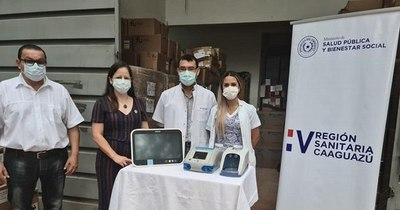 La Nación / Cinco hospitales del departamento de Caaguazú recibieron equipos biomédicos