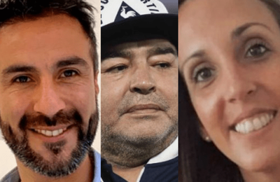 Revuelo por chats y audios de médicos de Maradona en el día de su muerte