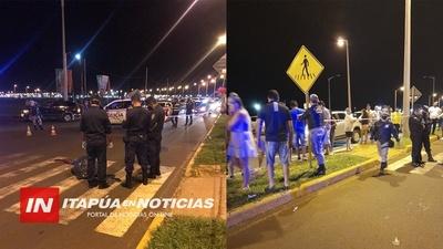 POLICÍA MUNICIPAL CON ESCASEZ DE PERSONAL PARA COBERTURAS EN COSTANERAS