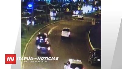 CONDUCTOR DEL OTRO SUBARU DESMIENTE CARRERA «ME QUEDÉ Y LLAME AL 911»