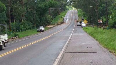 Habilitan tramo tras revisión del puente Ytú en zona de Caacupé