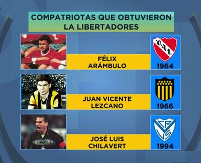 Sello paraguayo en los títulos de la Copa Libertadores
