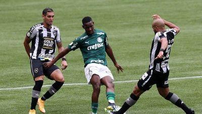 Palmeiras empata con Botafogo antes de viajar a Catar