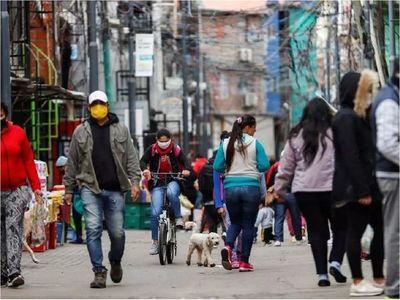 Argentina añade 9.695 nuevos casos de Covid-19 y 177 decesos más