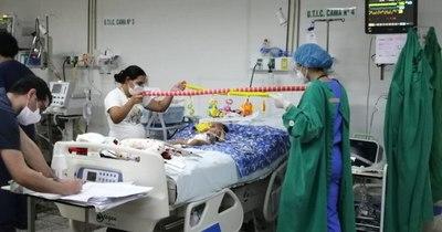 La Nación / Asisten a bebé con AME sin hacer traqueotomía