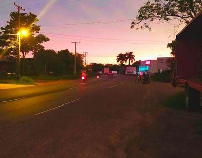 Tramo de ruta PY02 en Itacurubí es el único que sigue bloqueado tras lluvias